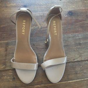 Report heeled sandals