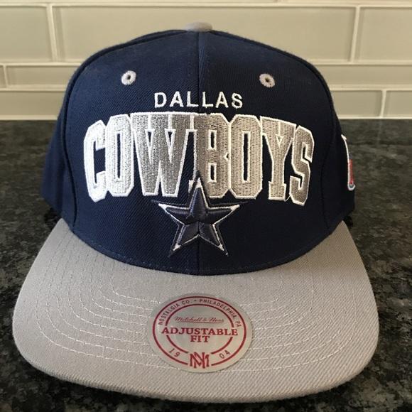 6aab404d Mitchell & Ness Accessories | Dallas Cowboys Mitchell Ness Snapback ...