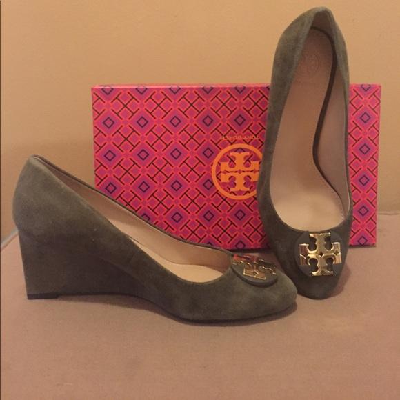 87b2ee3c7 Tory Burch Luna Wedge shoes brand new!!