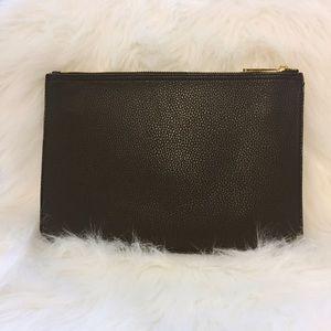 Ann Taylor Bags - Ann Taylor Black Leather Clutch