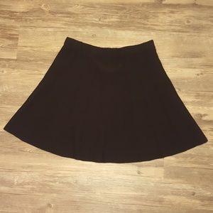Zara Black skirt sz L NWT