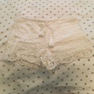 Francesca's Lace Short