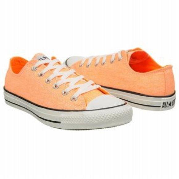 443b6da2691426 Converse Shoes - 🆕 Converse Chuck Taylor All Star Ox Neon Orange