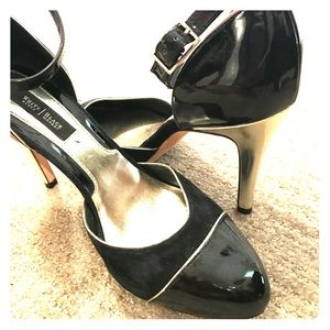 WHBM, Black and Gold heel