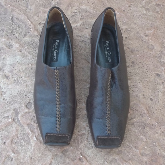 a4fea1a8254 Paul Green Munchen European Dark Brown Loafers 75