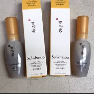 Other - Sulwhasoo first care serum travel new of 2