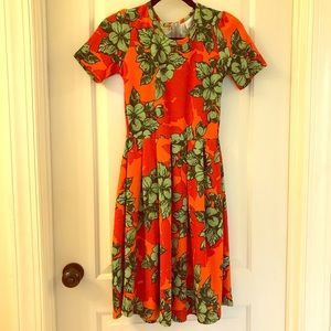 Orange and Green Amelia - Perfect for Fall!