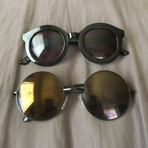 Accessories - TWO PAIRS UNBRANDED SUNGLASSES