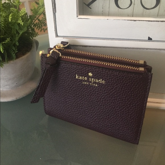fef2700bb90cf 🚪Clear Out🚪Kate Spade small malea mulberry NWT