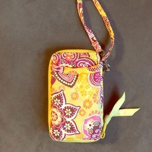 Vera Bradley wallet & phone case wristlet