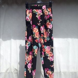 Ambiance Apparel Floral Pants