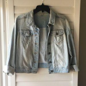 Nordstrom BP light wash denim Jean jacket
