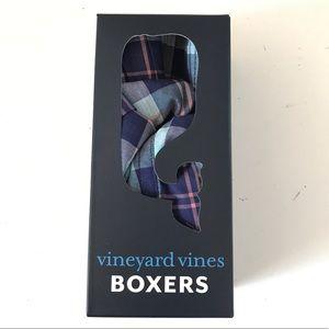 New Men's Vineyard Vines Cotton Boxers Sz M