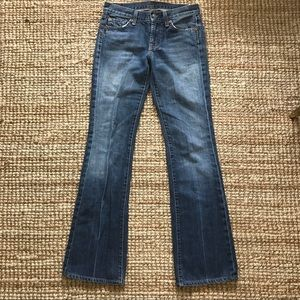 Like New Flared 7 Jeans