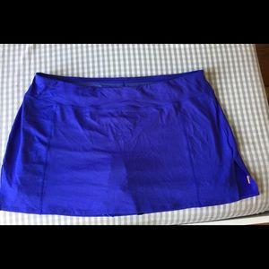 Lucy tennis skirt (skort) blue/periwinkle color