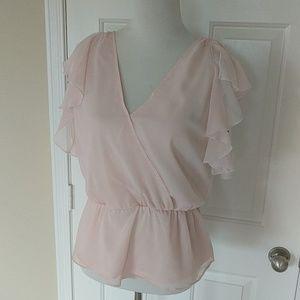 Leith Pink Sleeveless Top