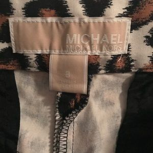 Michael Kors Cheetah Dress Pants