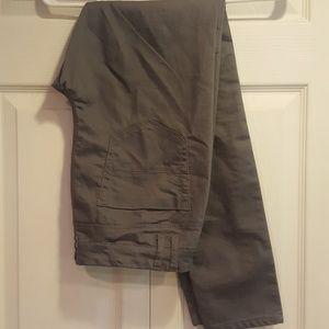 Women's Gray Skinny Dress Pants