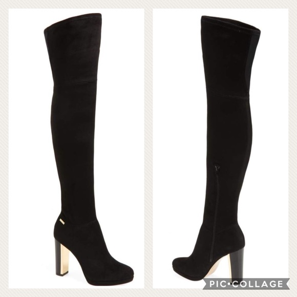 1f228146fa8 Calvin Klein Polomia Over the Knee Boots NWOB
