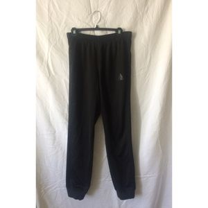 adidas Pants - ADIDAS black drawstring climacool joggers