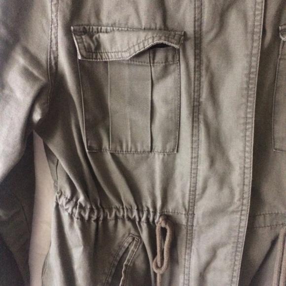 Old Navy Jackets & Coats - OLD NAVY green long sleeve utilitarian jacket