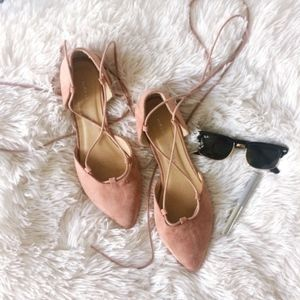 CHINESE LAUNDRY light pink d'Orsay la up flats