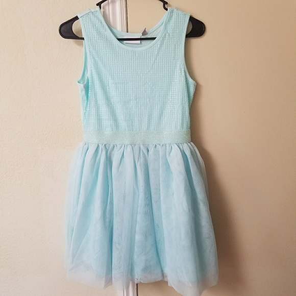 38004b61 Children's Place Dresses | Childrens Place Sequin Mesh Dress Crystal ...