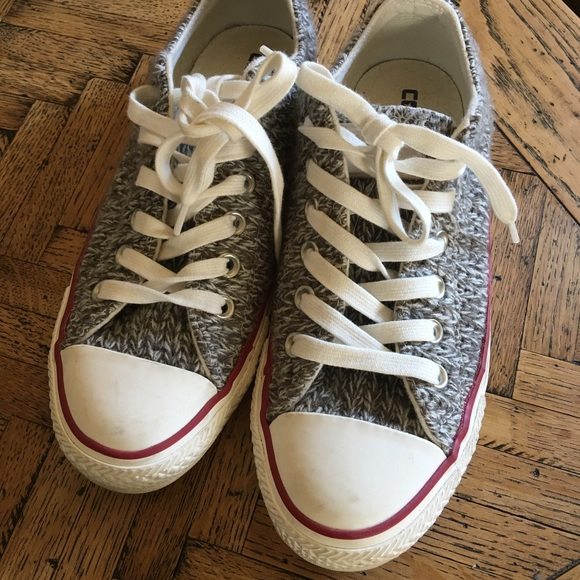 converse yarn shoes