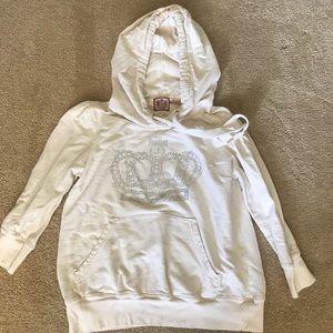 Cropped Juicy Hoodie Sweatshirt