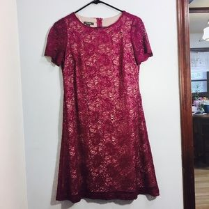 Detailed Lace Dress