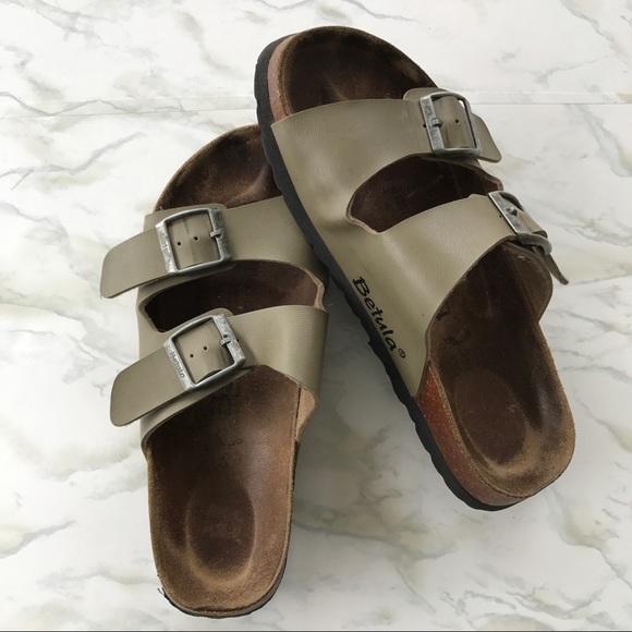 a9dc5647d1d9 Birkenstock Shoes - Birkenstock Betula Two Strap Green Sandals Size 7