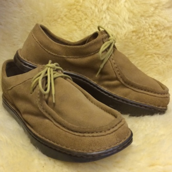 f83ce37c8128 KALSO EARTH SHOES SUEDE NEG HEEL UNISEX M-8 W-10