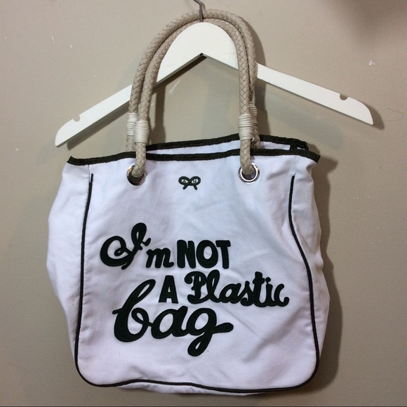 ff31e49ed89d Anya Hindmarch Handbags - Anya Hindmarch I m Not A Plastic Bag Tote Bag