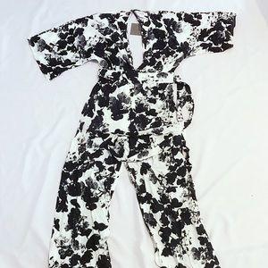 NWT Monochrome Jumpsuit 6P