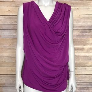 HP 10/10 🎉 {lane bryant} purple sleeveless blouse