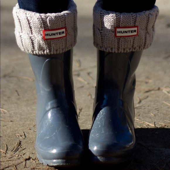 Hunter Boots With Socks Kids