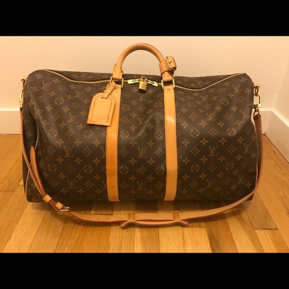 7c313c950f4 Louis Vuitton Handbags - Keepall Bandouliere 55