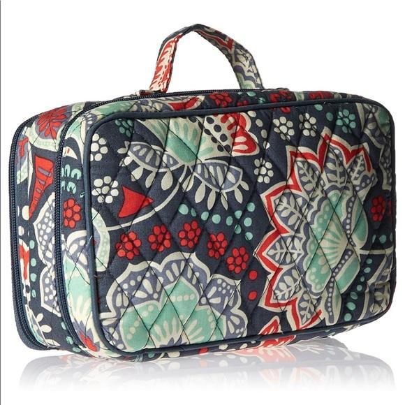 e412ea1d131 Vera Bradley Bags   New Nomadic Floral Brush Makeup Case   Poshmark