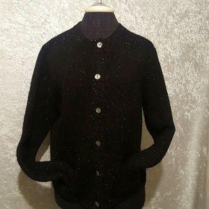 Vintage Valerie Stevens Sport Wool Cardigan