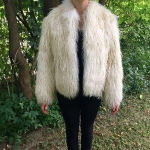 Jackets & Blazers - Tibetan lamb wool fur coat