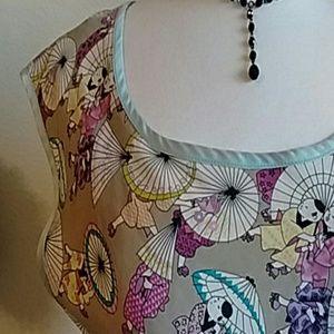 CITRON Silk Parasol Top!