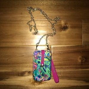 Lilly Pulitzer Cross-body Phone Wallet