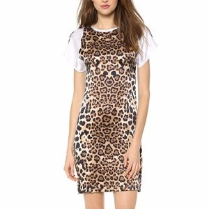 Rodarte Leopard print 100% silk dress. Size 8