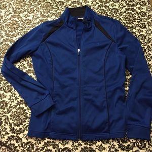 Royal blue danskin now fitness  jacket