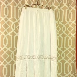 Boho Skirt with Lace detail