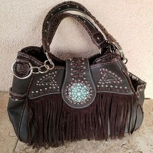 Handbags - Western Concealed Carry Handbag New with tag