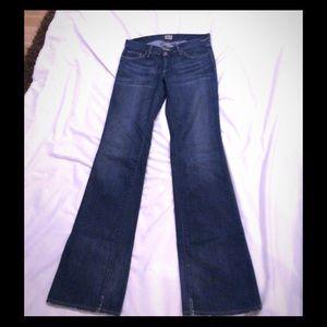 Goldsign Passion Boot Cut Blue Denim Jeans
