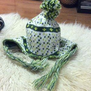 Green/white Portland Timbers hat