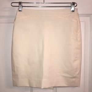 Theory White skirt