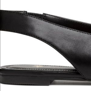 H&M Shoes - Black Pointed Slingback Flats